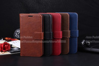 2014 new arrival Luxury Wallet PU Leather Stand flip Case For Samsung Galaxy S5 i9600 SV Phone Bag Cover Business Book Style