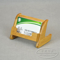 Business card box bamboo business card holder supplies bamboo product portable business card box portable business card box
