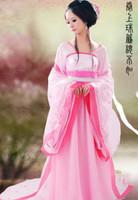 Christmas pink big train female costume tang suit hanfu mounted miss princess costume photo service
