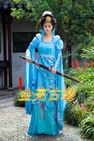 Hanfu costume princess costume women's 3 houndsberry skirt