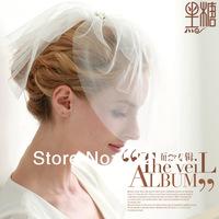 Wedding veil hair accessory bridal hat