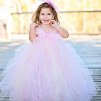 Children's clothing clothes wedding flower girl skirt female child puff white skirt one-piece dress princess dress flower girl