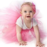Ellies bridal quality child princess dress flower girl skirt wedding dress female child costume wedding dress