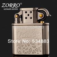 2014 Zorro brand new arrival windproof copper metal Retro cigarette oil lighters Generous fashion best gift for you