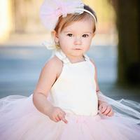 Child ellies bridal dress female child baby dress princess flower girl dress skirt wedding dress kid's skirt