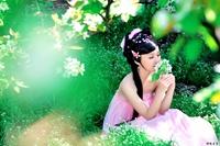 Costume hanfu tang suit sexy female costume aesthetic pink tulle dress women's elegant costume