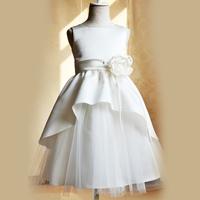 Luxury female child princess dress flower girl skirt wedding dress wedding banquet dress formal dress