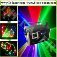 DMX ILDA 2w 2000mw mini size stage RGB laser light, Dj disco night club outdoor christmas laser light