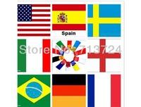 High Quality 10pcs/set Men's Underwear Boxers Cotton Underwear Flag Pants Man Underwear Boxer Shorts,free shipping!