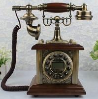 European technology Caller ID telephone dialing keys antique retro telephone Creativity vintage antique plane Free Shipping