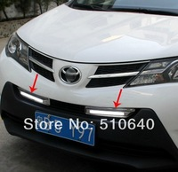 High quality LED Daytime running lights front Fog lamp Fog Lights For 2014 Toyota RAV4  jj