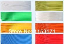 3d printer filaments ABS1.75mm /3.0mm plastic Rubber Consumables Material/3d doodler print material