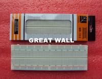 FREE SHIPPING! 10pcs/lot Breadboard 830 Point Solderless PCB Bread Board MB-102 MB102 Test Develop DIY