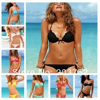 Free shipping  new 2014 High quality women sexy swimsuits Multicolor, hot classic best-selling Bikini swimsuit