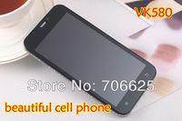 Like SWAROVSKI phone SS129 diamond design 5.0 inch screen Dual sim cards GSM VK580 mobile phone russian best gift