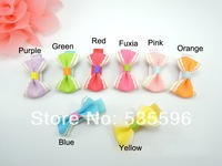 Free Shipping New Kids/Girls/Princess/Cute Striped Ribbon Bowknot hairpins/Lovely Hairgrips/children hair accessories