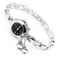 New 2014 Women fashion quartz watch high quality metal strap, delicate stainless steel needle,free shipping!