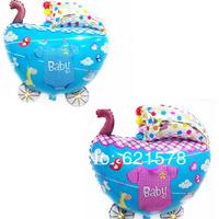 wholesale 20pcs/lot baby car balloon for baby birthday party helium balloon Aluminum foil balloon free shipping