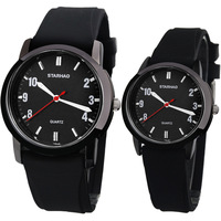 Ots fashion lovers watch a pair of lovers table waterproof quartz watch fashion watch casual