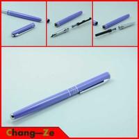 High quality, hero pen, student pen, Iridium gold fountain pen, Financial pen, standard 0.5mm nib, purple metal housing -- 448