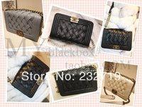 new 2014 knitted women's handbag one shoulder cross-body women's handbag vintage chain small bags messenger bag small bag