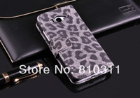 Luxury Leopard skin PU leather wallet pouch stand flip case cover for XiaoMi Mi M 2 2S M2 M2S Top quality protective bag