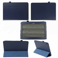 free shipping 30pcs/lot Litchi grain stand PU Leather Case Cover for Acer Iconia A3