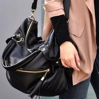 New Korean Hobo Tassel Handbag Cross Body Shoulder Bag Large Capacity handbag