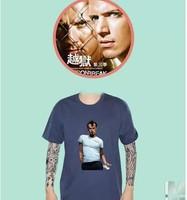 classic American TV series Prison Break Men's short sleeve T-shirt