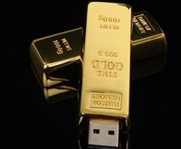 10PCS/LOT,Free shipping 4G  8G 16G 32G U Disk pen drive golden USB Flash 2.0 usb Flash Drive memory stick,UF48