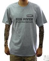 classic American TV series Men's short sleeve T-shirt  Prison Break fox river