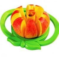 wholesale 50pcs/lot apple peeler corer and slicer apple cutter apple divider kitchen gadget