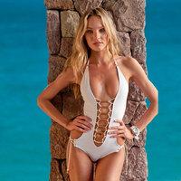 Hot Sale New Vintage Sexy Women Swimwear Beachwear Cheap One Piece Swimsuits Fashion Bathing Suits Free Shipping