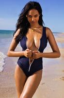 Free Shipping 2014 New Vintage Sexy Women Swimwear Cheap One Piece Beachwear Zipper Swimsuits Fashion Bathing Suits