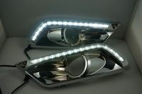 HOT !!! selling !!! original position high power Electroplating LED daytime running light or lamp (DRL) special for CRIDER