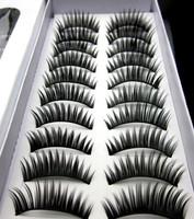 10 package beautiful high grade of dense eyelashes false eyelash