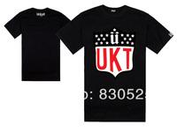 Free Shipping Brand Unkut Cheap High Quality Brand Men's UNKUT T Shirt Black Fashion Shirt Casual Hip hop Short T-shirts