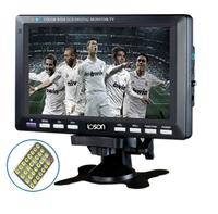 7 da-700c sleekly lcd mini tv machine pluggable usb flash drive sd belt fm radio rmvb