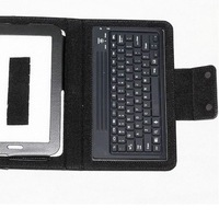 """Pu leather Seperable Wireless Bluetooth 3.0 Keyboard Case For Samsung Galaxy Tab 2 7.0""""P3100 P3110 P3113 P6200 P6210"""