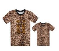 UNKUT leopard T shirts mens brand name fashion hiphop shirt T-shirts 20 styles short sleeve Free Shipping Szie S- XXXL