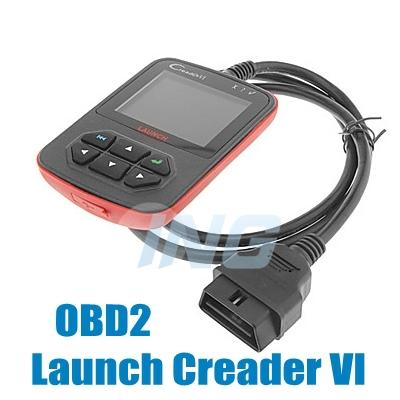 Diagnostic Tool, Launc h Creader VI OBD2 AUTO SCANNER, Creader 6 code reader CREADER VI (Free Shipping)(China (Mainland))
