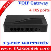 Free Shipping HT-842R! 4 Fxs Ports VoIP Gateway HT842R/FXS Gateway/ATA(SIP) gateway