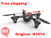 Free shipping New Version Hubsan X4 H107C 2.4G 4CH RC Quadcopter With 30W Camera RTF Mini RC Helicopter Quadcopter Quad Copter