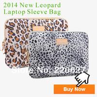 Pop Fashion Leopard Laptop Sleeve Case 10 10.112 13 13.3 14 15 15.6 inch Computer Bag Lady Women Notebook Case Bag Drop Shipping