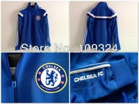 2013-2014 Chelsea Anthem Track Top - Reflex Blue
