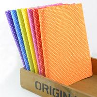 "50CMx50CM 7 Colors Assorted ""Mini Dots"" Cotton Fabric Fat Quarters Patchwork Tilda cloth scrapbooking Fabric for Sewing W3B3-1"