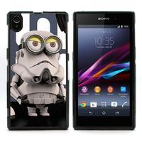 For Xperia Z1 Case, Despicable Me Minion Rush Hard Skin Cover Case For Sony Xperia Z1 L39H (L39H-1527)