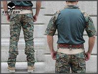 EMES Combat Uniform - Summer Edition (Marpat Woodland) tactical uniform M,L,XL free shipping