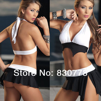 vintage lingerie sexy pvc costumes tomb raider clothes for the holiday trade equipment latex costumes women bandage S68864
