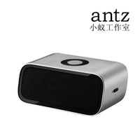 Free shipping Small ant metal 1 subwoofer wireless bluetooth speaker mini portable audio 2.0 audio encoding